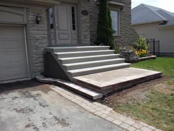 Construction nola escalier balcon marches galerie en b ton for Recouvrement de balcon exterieur